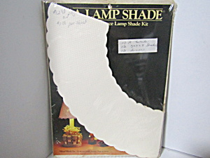 Vintage Craft Pierce Lamp Shade Paper Kit