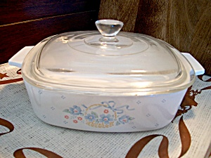 Country Cornflower Corning 2.5 L. Casserole