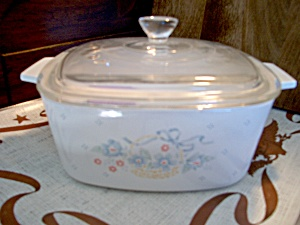 Corning Ware Casserolecountry Cornflower