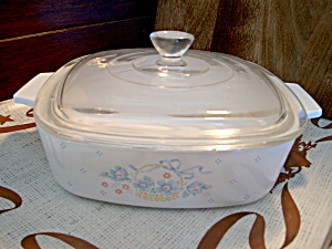 Corning Ware 2l Casserole Country Cornflower