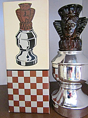 Avon The Queen Ii Chess Piece Spicy After Shave