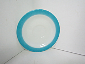 Vintage Pyrex Turquoise Saucer