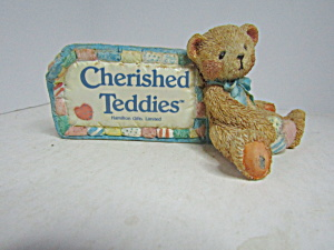 Cherished Teddies Plaque Cherished Teddies