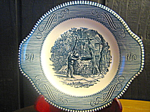 Currier & Ives Gravy Under Plate