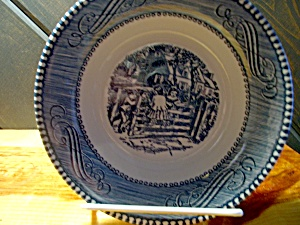 Currier&ives Farm Gate Sause/fruit Dish