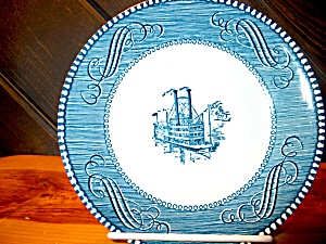 Currier & Ives Saucer Low Water In The Miss.