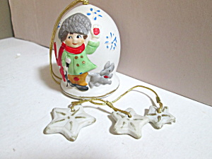 Vintage Jasco Christmas Chimes Hanging Bell