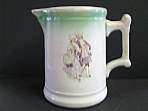 Sevres Usa Hotel China Colonial Couple Pitcher