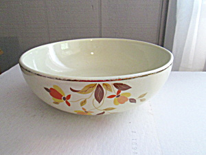 Vintage Hall Autumn Leaf Salad Serving Bowl