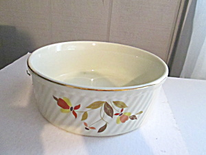 Vintage Hall Jewel Tea Autumn Leaf Baking Dish