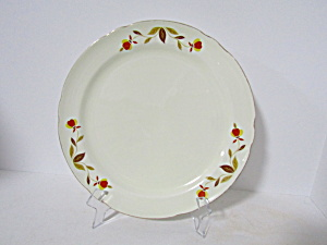 Vintage Hall Autumn Leaf Jewel Tea Dinner Plate