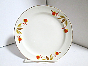 Vintage Hall Jewel Tea Autumn Leaf Bread & Butter Plate