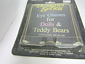 Designer Series Eye Glasses For Dolls & Teddy Bears