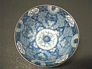 Oriental Blue Floral Six Inch Rice Bowl