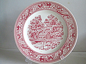 Vintage Royal China Memory Lane Dinner Plate