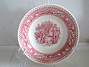 Vintage Royal China Memory Lane Sauce Dish
