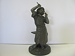 Bronze Sculpture Of Blacksmith