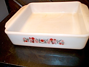 Vintage Fire King Primrose Cake Pan