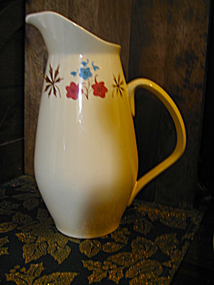 Franciscan Larkspur Drinking Pitcher