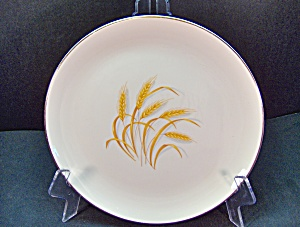 Homer Laughlin Golden Wheat Luncheon Plate Unmarked