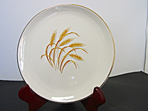 Homer Laughlin Golden Wheat Bread Plate Unmarked