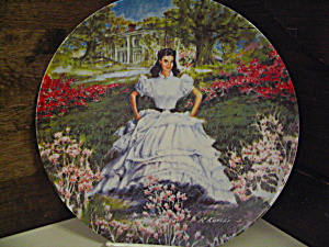 Gone Withthe Wind First Edition Plate Scarlett