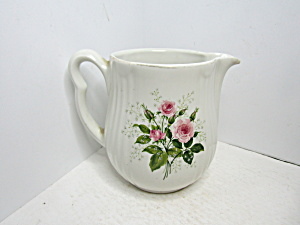 Vintage Hall Heather Rose Water/milk Pitcher