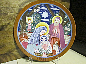 Hedi Keller Plate Die Geburt Christi - The Nativity