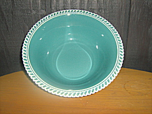 Harkerware Celadon Green Serving Bowl