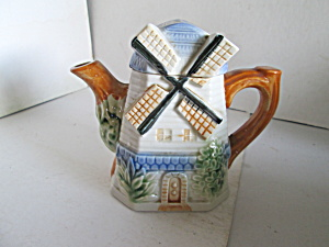 Vintage Gifts Windmill Teapot Or Creamer