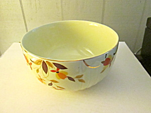 Vintage Hall Autumn Leaf Meduim Stacking Mixing Bowl