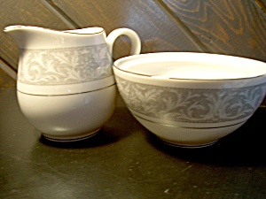 Imperial China Whitney Creamer/open Sugar Set