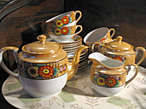 Oriental Japan Bone China Tea/snack Set