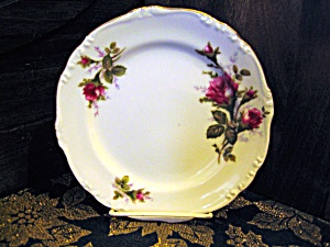 Japan China Moss Rose Dessert/salad Plate
