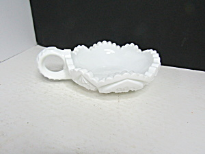 Vintage Kemple Toltec Milk Glass Nappy