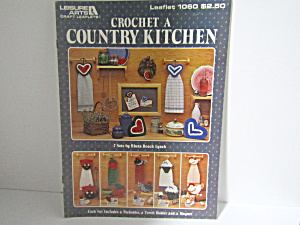 Leisure Arts Crochet A Country Kitchen #1060