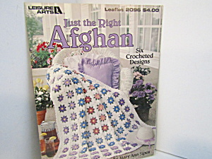 Leisure Arts Just The Right Afghan #2096