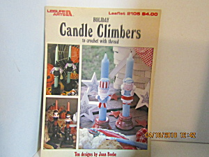 Leisure Arts Crochet Holiday Candle Climbers #2105