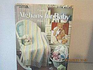 Leisure Arts Crocheted Afghans For Baby 4 #2178