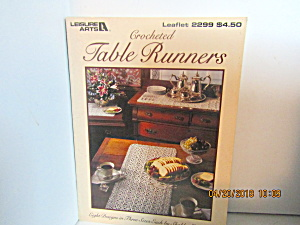 Leisure Arts Crocheted Table Runners #2299