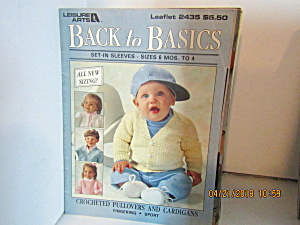 Leisure Arts Kids Back To Basics Set-in Sleeves #2435
