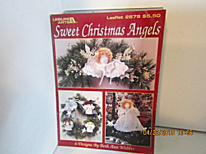 Leisure Arts Sweet Christmas Angels To Crochet #2679
