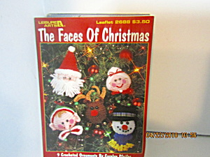 Leisure Arts The Faces Of Christmas To Crochet #2688