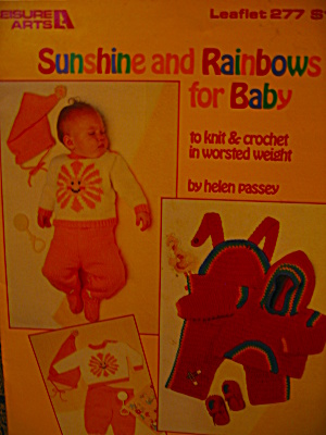 Leisure Arts Sunshine And Rainbows For Baby #277