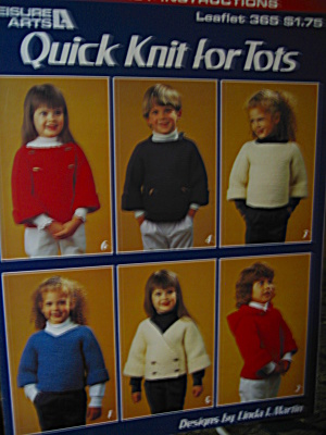 Leisure Arts Quick Knit For Tots #365