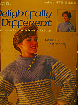 Leisure Arts Delightfully Different #472