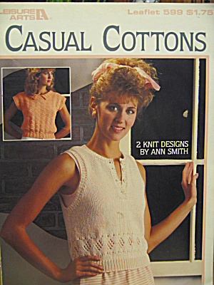 Leisure Arts Casual Cottons #599