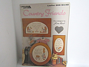 Leisure Arts Country Friends #808