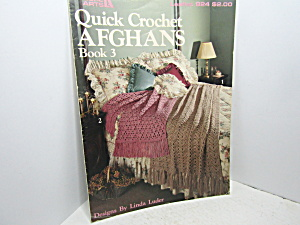 Leisure Arts Quick Crochet Afghans Book 3 #824