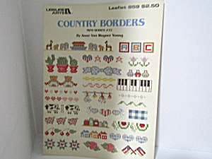 Leisure Arts Country Borders #22 Mini Series #859